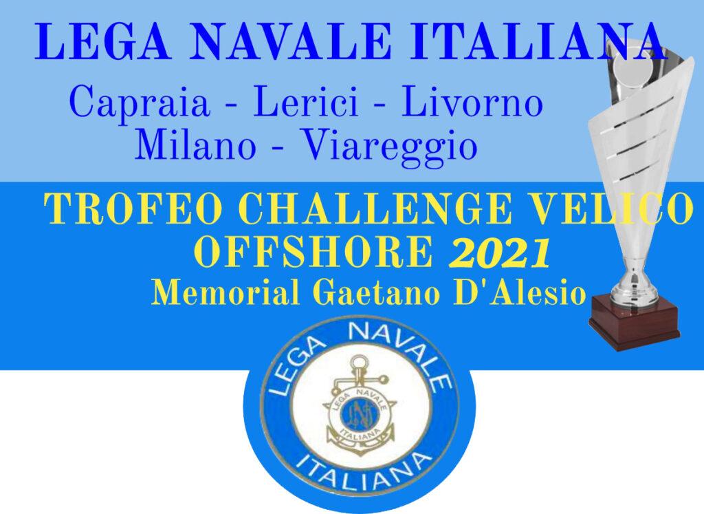 Trofeo Challenge Velico Offshore 2021 Memorial Gaetano D'Alesio
